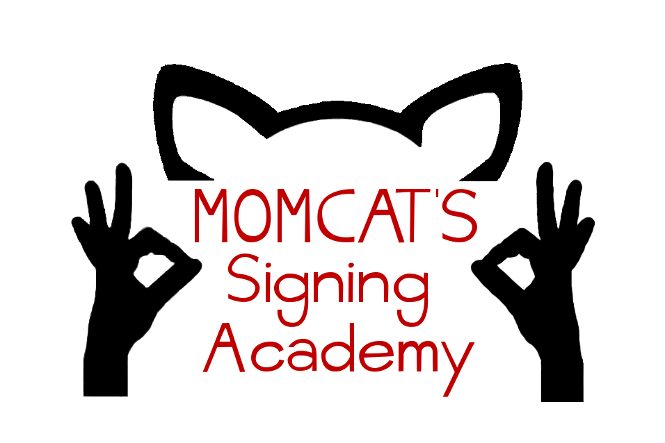 Momcat's Signing Academy - The Purrfect way to enhance communication with your little one! www.momcats-signing-academy.com